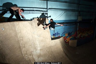 Jeff Stockwell - Saftey Grab Fakie Round The Bowl - Dumbarton